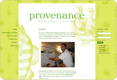 Provenance Website
