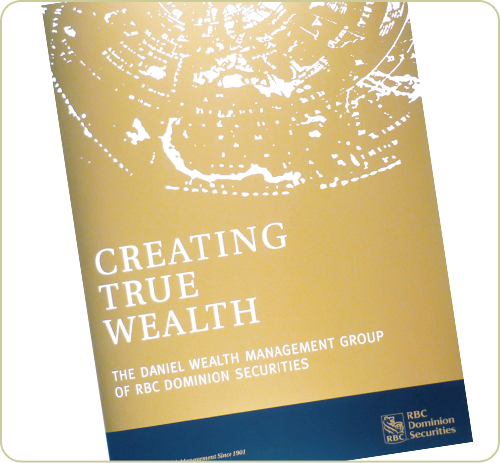 Daniel Wealth Management brochure cover